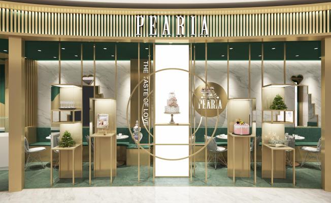 【Pearla蛋糕店装修】陆家嘴中心商场店
